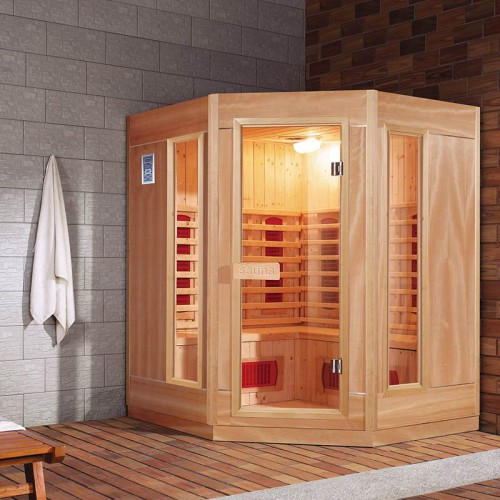 sauna infrarouge 3 à 4 places ethis