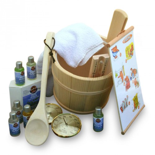 Set complet sauna traditionnel (type tana)