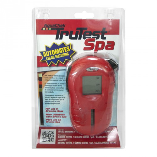 Testeur Trutest Spa Aquachek recto