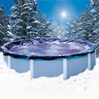 Couverture d'hiver super guard pour piscine hors sol - 3,65 x 7,31 m