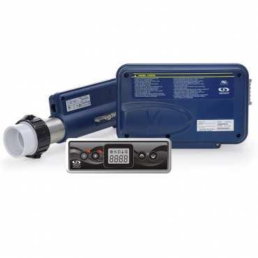 Centrale électronique IN.YJ-2-V2 avec réchauffeur 2kw et clavier in.k300 - Gecko