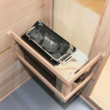 Poêle avec commande intégrée - Poêle Cup 4,5kw pour sauna