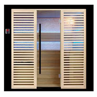 Sauna de Luxe traditionnel 8 places Arizona