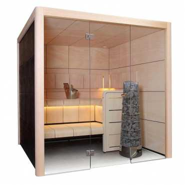 Sauna Traditionnel 4 à 5 places Claro - Harvia