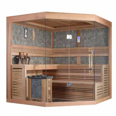 Sauna de Luxe traditionnel 5 à 7 places Lumios