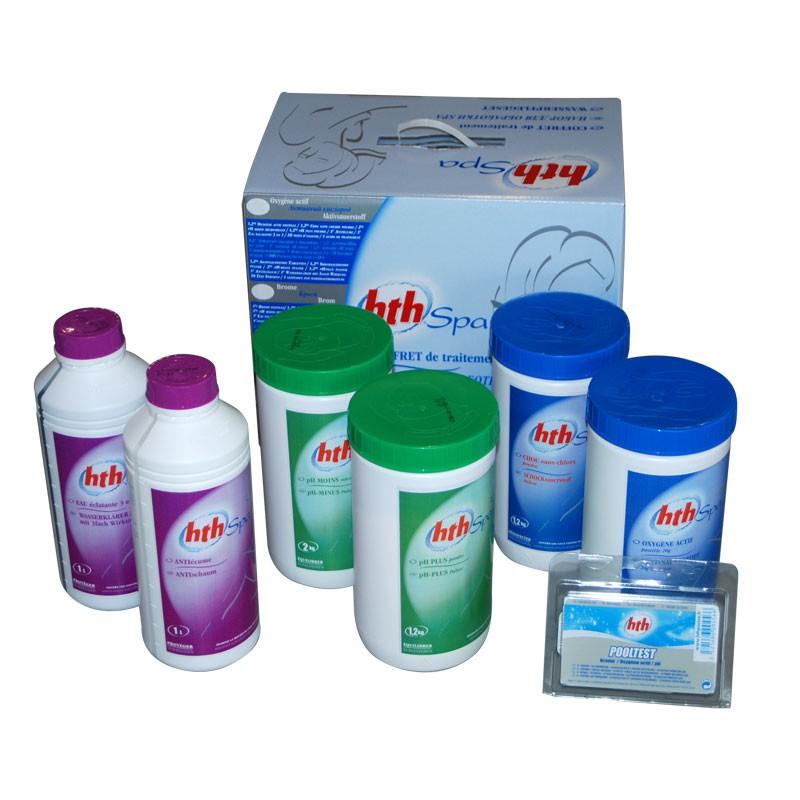 hth coffret de traitement à l'oxygène actif