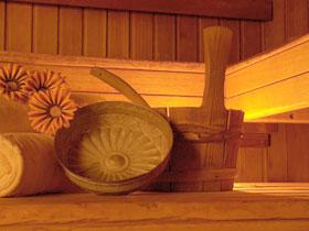 sauna ambiance